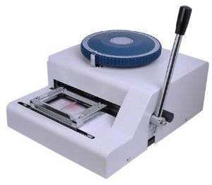 XtremepowerUS Professional PVC Embosser Plastic Card Manual Embossing Machine by XtremepowerUS