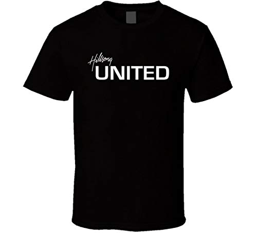 Hillsong United Youth Ministry Religious T Shirt Black