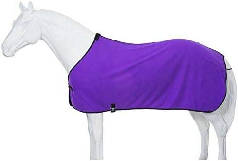 Tough-1 Softfleece Blanket Liner/Sheet Horse Tack Equine (Color:Purple; Size:Medium;)