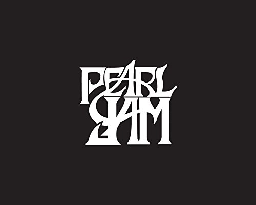 PEARL JAM ROCK BAND LOGO STICKER SYMBOL 5.5' DECORATIVE DIE CUT DECAL Rock n Roll - WHITE