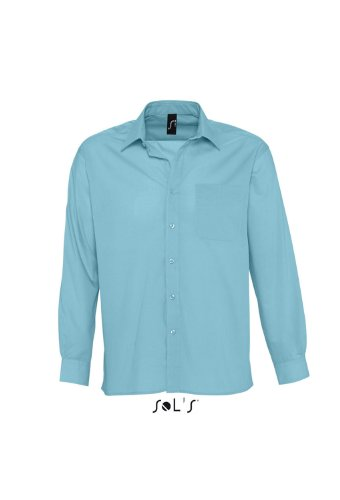 SOLs Baltimore Langarmhemd XXL,Atoll Blue