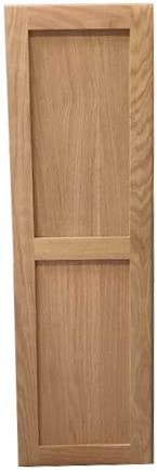 Amazon Com Hide Away Oak Ironing Board With Shaker Door Home Kitchen