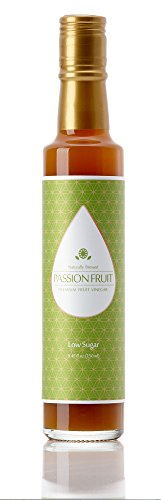 Fruit Passion Wine (Young Scent Natural Brewed Premium Vinegar Concentrate 250 ml Perfect For Salad Dressing Sauce and Cooking | Comes With 9 Delicious Drink Recipes (Passion Fruit -Low Sugar))