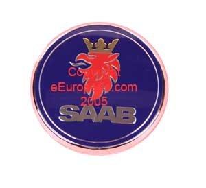 Saab 9 - 3 (3/5 puertas) tronco posterior decklid Hatch emblema OEM insignia escudo: Amazon.es: Coche y moto