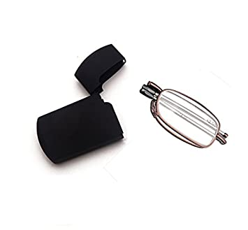 da5d377403 Men Women Small Compact Folding Foldable Pocket Readers Eye Glasses Unisex  Portable Presbyopic Reading Glasses Eyewear