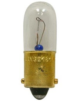 GE Lighting 1816 Automotive Instrument Light Miniature Bulb (27688) 10 Lamps per Tray (1816 Miniature)