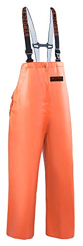Grundéns Men's Herkules 16 Fishing Bib Pant, Orange - XX-Large ()