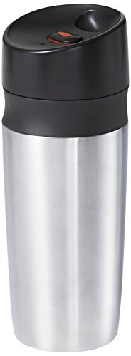 OXO decent side grips twin Wall go Mug, Silver