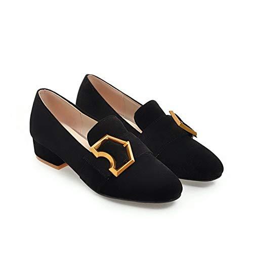 5 1TO9 Compensées MMS06249 Noir Noir EU Femme 36 Sandales BB0rqxwA