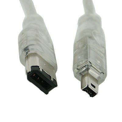 Amazon.com : FIREWIRE DV CABLE CAMCORDER FOR CANON SONY SHARP JVC ...