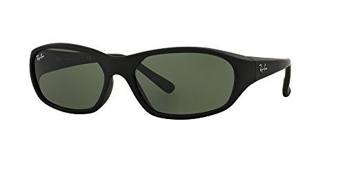 New Ray Ban Daddy-O RB2016 W2578 Black/ Green Classic 59mm - Daddy O Sunglasses