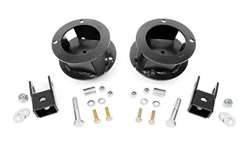 Rough Country - 377-2.5-inch Suspension Leveling Kit for Ram: 14-18 2500 4WD, 13-18 3500 4WD - Rough Country Leveling Kit