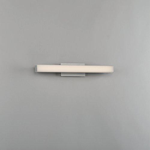 WAC Lighting WS-77618-35-AL Brink LED Bath & Wall Light, 18'', Brushed Aluminum