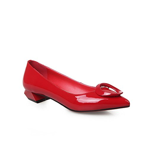 EU 38 5 Inconnu Red Sandales Femme 1To9 Compensées MMS05679 Rouge wqFY8q0Z