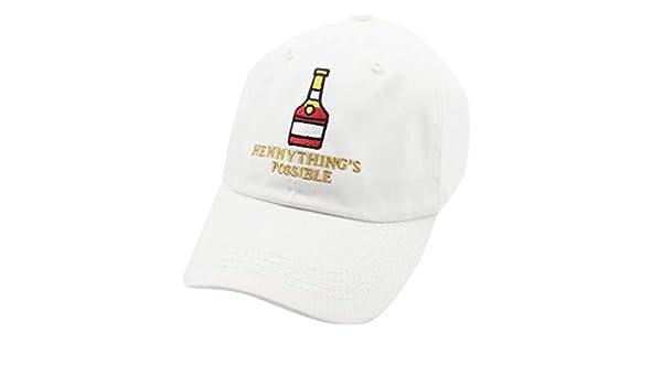 Qisc_Baseball Hats Henny Bottle - Gorra de béisbol para papá ...