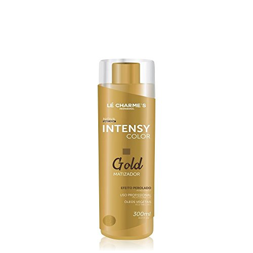 Les Charmes - Linha Matizadores Le Charmes Cosmeticos - Intensy Color Gold 300 Ml - (Le Charmes Cosmeticos Brassiness Control Collection - Intensy Color Gold 10.14 Fl Oz)