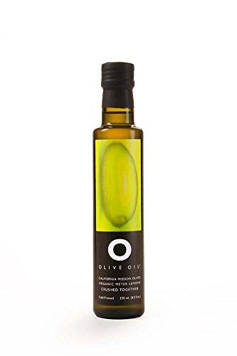 Lemon Olive Oil Organic - O OLIVE OIL & VINEGAR Organic Crushed Meyer Lemon Olive Oil, 8.45 Fluid Ounce