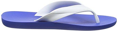 Cavalier Grève Mens Flip Flops / Sandales Blanc