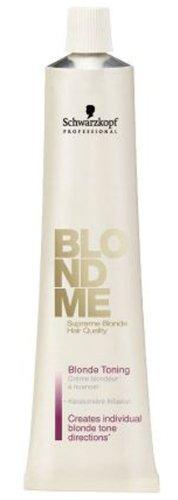 (Schwarzkopf Professional Blond Me Blonde Toning - Ice - 2.02 oz)