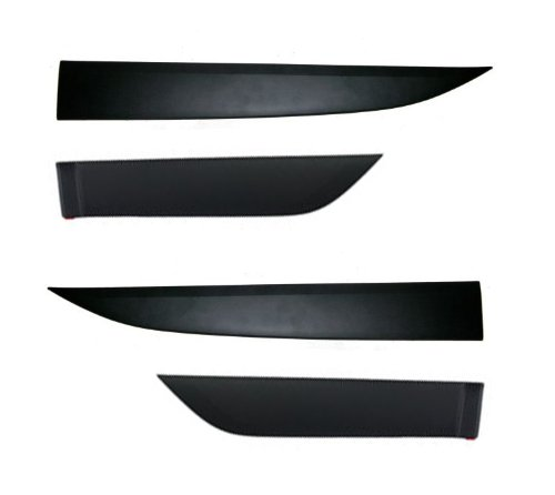 Hyundai Motors Genuine 87721.877222S000, 87731.877322S000 Side Door Garnish Protect Molding Cover 4-pc Set For 2010 2011 2012 2013 Hyundai Tucson : ix35