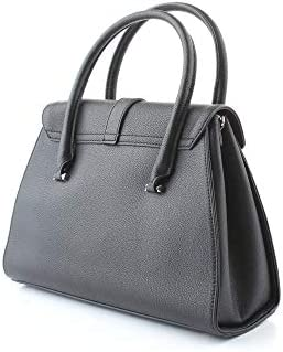 Guess Luxury Fashion Donna HWVG7477070BLACK Nero Poliuretano Borsa A Mano | Primavera-estate 20