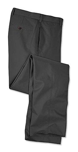 Orvis Men's Ultimate Khakis Trim Fit - Plain Front, Slate, 40W X 26 1/2L by Orvis