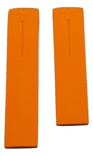 Tissot T-Touch II Expert Orange Rubber Band Strap [CHECK FOR T013420 or T047420 FROM THE BACK OF WATCH]