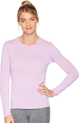 Hot Chillys Women's Pepper Skins Crew Neck April Large -