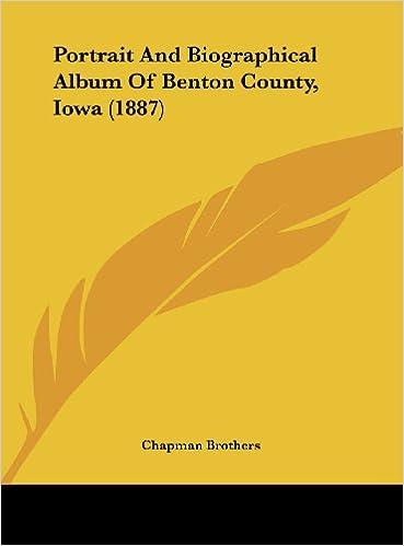 Portrait and Biographical Album of Benton County, Iowa (1887)