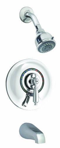 Symmons S-7602-X-Rp Allura Tub/Shower System, Chrome -