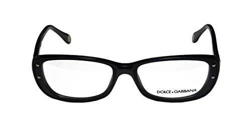 Dolce Gabbana 1226 WomensLadies Designer Full-rim EyeglassesEyeglass Frame (52-16-135 Black)