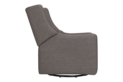 Babyletto Kiwi Electronic Recliner and Swivel Glider with USB Port, Grey Tweed by babyletto (Image #7)