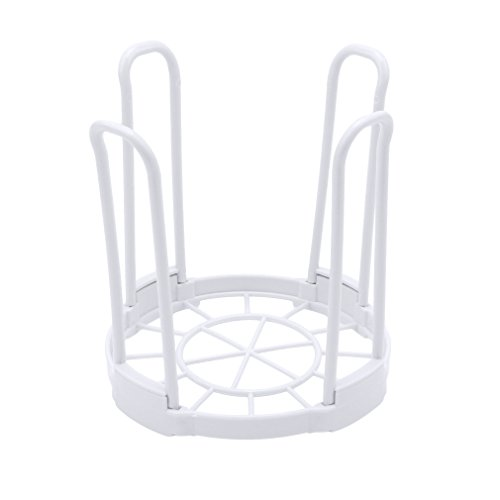Meolin Plastic Dish Drying Rack Bowl Organizer Drainer Kitch