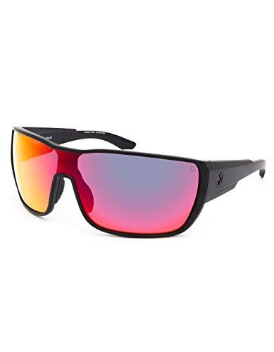Spy Tron 2 Sunglasses-Matte Black-Gray Green/Red - Tron Sunglasses