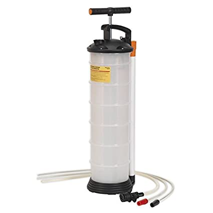 Sealey 6 5L Manual Vacuum Oil and Fluid Extractor