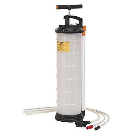 Liquides 9ltrAuto Sealey Huile Pompe D'extraction Et PiukXOZ
