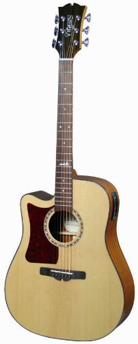 Sierra Alpine SD35LCE Acoustic-Electric Guitar, Left Handed