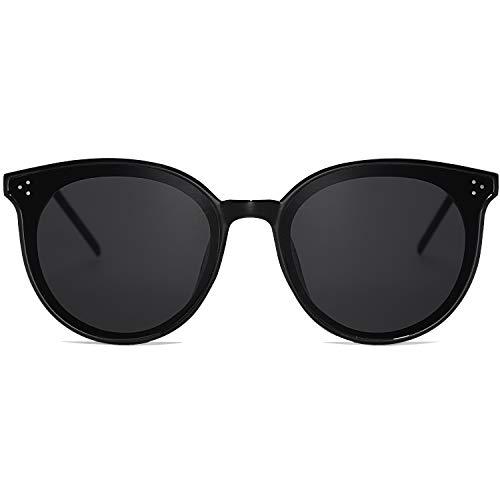 Amazon.com: SOJOS - Gafas de sol redondas para mujer, marco ...