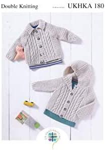 Baby Knitting Pattern DK UKHKA 112