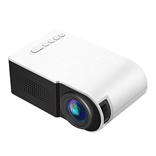 TOOGOO Yg210 1080P Led Mini Projector Portable Projector Device Home Theatre for Home Cinema Theater Indoor Without Battery (Us Plug) from TOOGOO