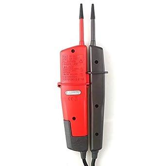 UNI-T UT18C Gamme Automatique Daffichage Num/érique Dappareil de Contr/ôle de Tension et de Continuit/é Pour la Rotation de Phase de RCD