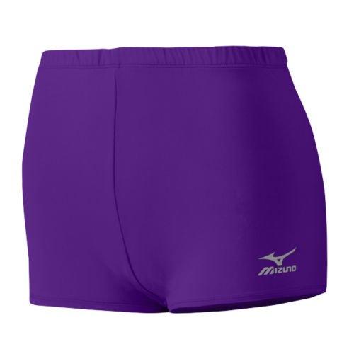 Mizuno Core Low Rider - Pantalones Cortos Bajos, Púrpura, X-Large