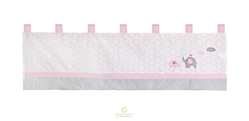 GEENNY OptimaBaby Pink Grey Elephant Bedding Sets
