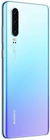 Huawei P30 Dual/Hybrid-SIM 128GB (GSM Only, No CDMA) Android 9.0 4G Smartphone, Crystal
