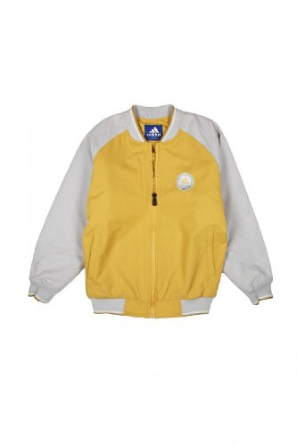 Adidas Kinder Jacke Blouson-Jacke , Farbe: Dunkelgelb, Groesse: 146