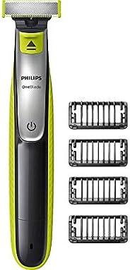 Barbeador Oneblade Philips QP2530/20 com 4 Pentes Bivolt