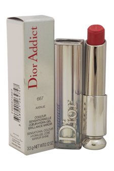 Christian Dior Addict Lipstick, No. 667 Avenue, 0.12 Ounce
