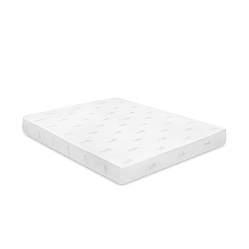 Furinno Angeland 6-Inch Bamboo Charcoal Infused Memory Foam Mattress, Queen,