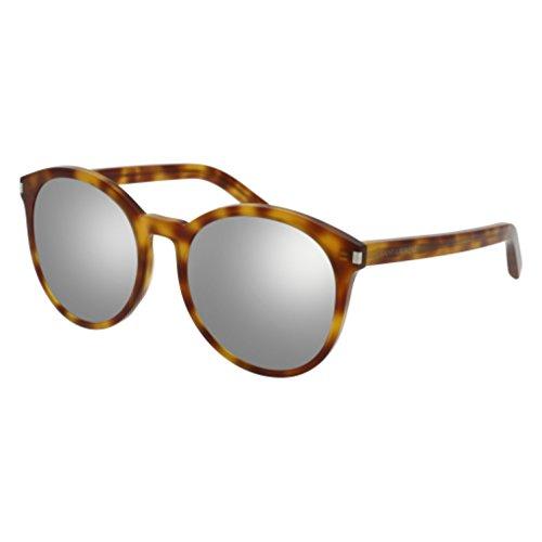Sunglasses Saint Laurent CLASSIC 6 010 AVANA / SILVER / - Men Shades Saint Laurent