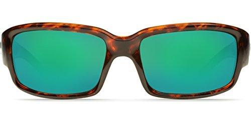 Costa Del Mar 580g CABALLITO Tortoise Sunglasses, Green Mirror ()